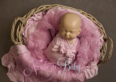 Oval  Basket  Bundle ~ pinks